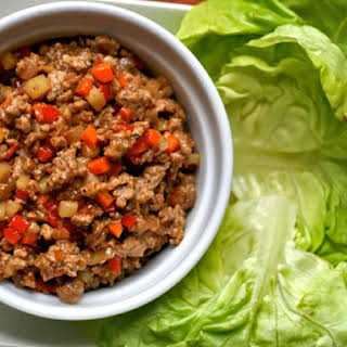 Pork Lettuce Wraps.