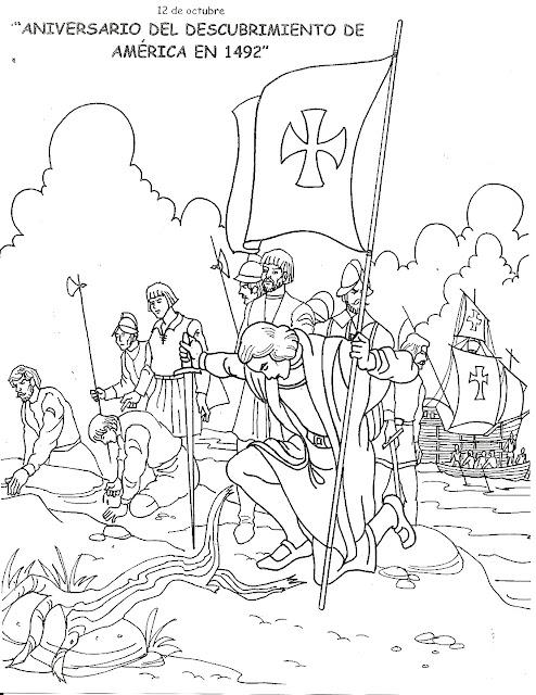 Dibujos De Cristobal Colon Para Colorear