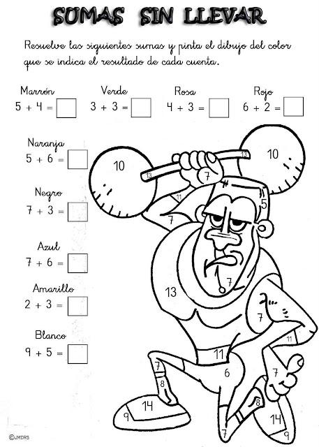 Fichas De Matematicas Para Imprimir