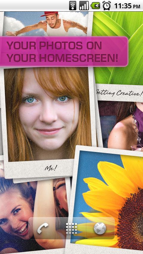PhotoWall Live Wallpaper- screenshot