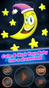 Baby Sleep Lullabies Free - screenshot thumbnail