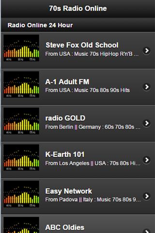 70s radio Online