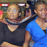 Relatives of passengers of the Yemenia airlines Airbus 310-300 that crashed  into stormy seas as it came into land in the Comoros islands early June 30, 2009, arrive at Marseille Marignane airport, southern France.  Bodies and wreckage from the Yemenia airline flight were spotted in the Indian Ocean near the island archipelago capital, Moroni, aviation officials said. The flight carrying 142 passengers and 11 crew, had started in Paris early June 29 and had made stops in Marseille, Sanaa and Djibouti. AFP PHOTO ANNE-CHRISTINE POUJOULAT