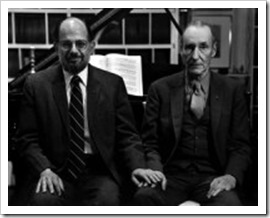 136_22_Burroughs and Allen Ginsberg by Hank O'Neal