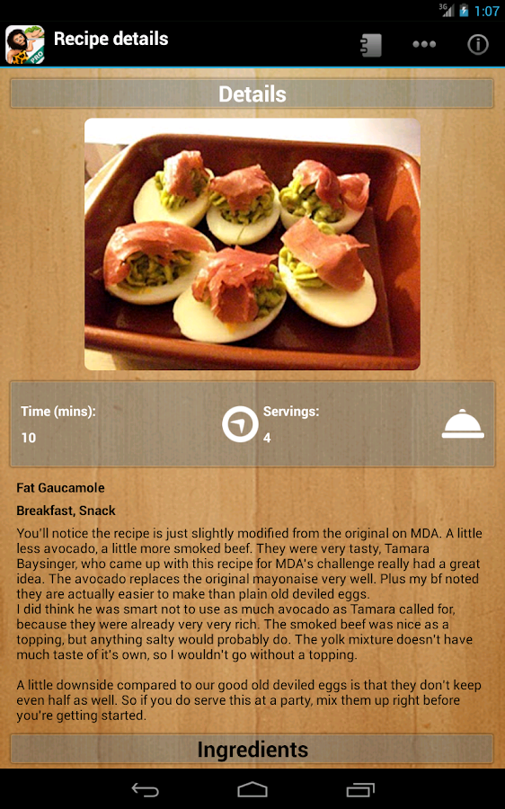Paleo Diet Pro - screenshot