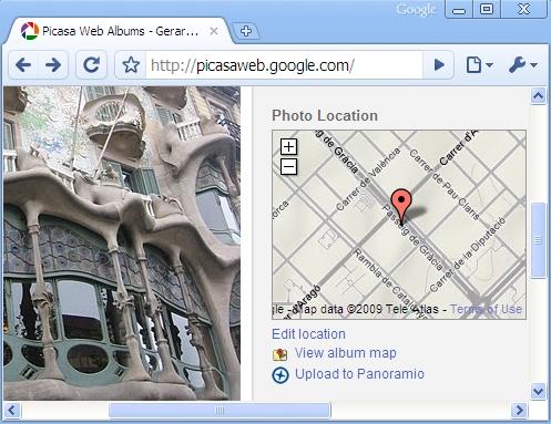 Panoramio Picasa Web