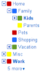Google Mail Labels