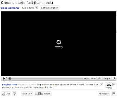 YouTube HMTL5