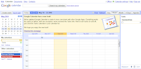 Neues Google Calendar Design