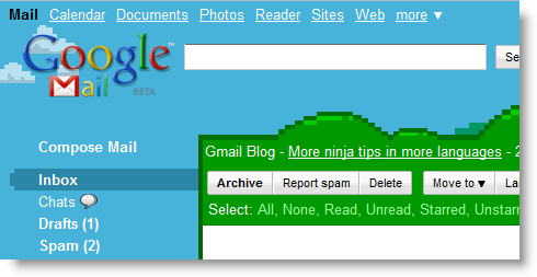 Super Mario Theme Google Mail