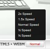 YouTube Geschwindigkeit
