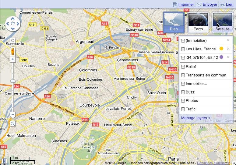 Kleines Redesign bei Google Maps - GWB