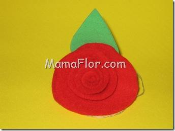 Manualidades Dia Madre Rosa Flor Goma Eva Fomis Foamys 82