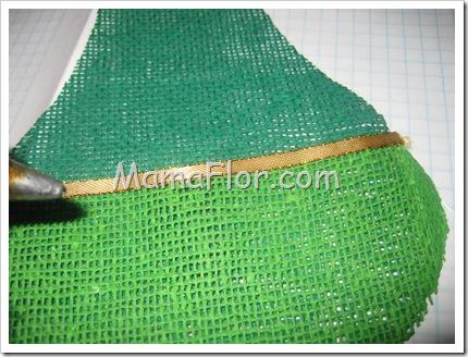 Como Hacer Una Fosforera En Yute De Color Manualidades Mamaflor