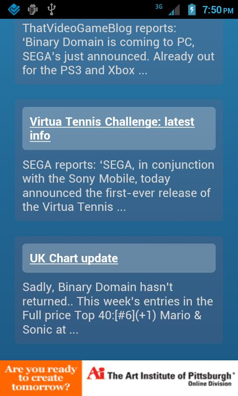 SEGA News - screenshot