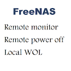 FreeNas power on/off icon
