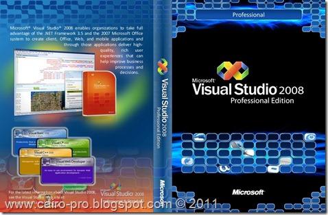 Download Visual Studio Professional Edition 2008 full تحميل