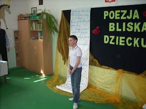 Konkurs Recytatorski Poezja Bliska Dziecku Szkoła