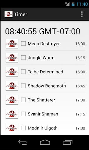 GW2 Event Timer 2014