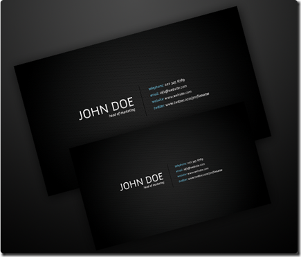 Simple-Dark-Business-Card