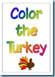 Thanksgiving Preschool Pack Coloring