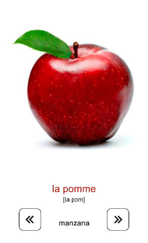 Aprender jugando. Francés free - screenshot