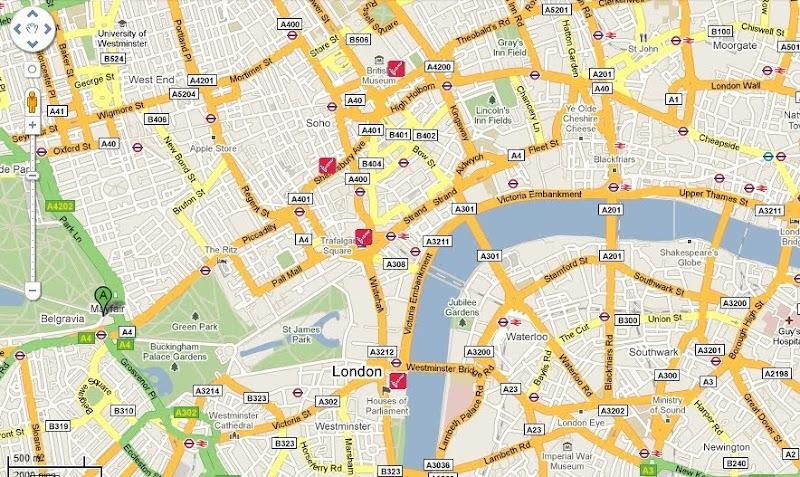 Ruta Londres Día 1 (Tarde)