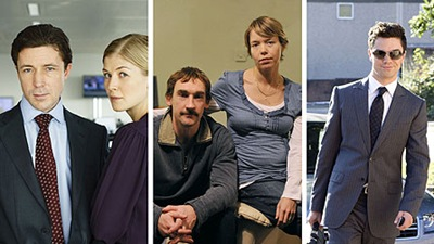 Aiden Gillen, Rosamund Pike, Joseph Mawles, Anna Maxwell-Martin and Dominic Cooper