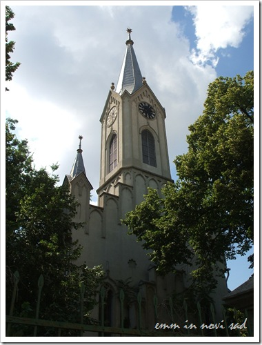 The Reformed Christian Church, 5 Šafarikova Street, Novi Sad