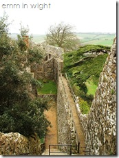 Wall Walk Carisbrooke Castle