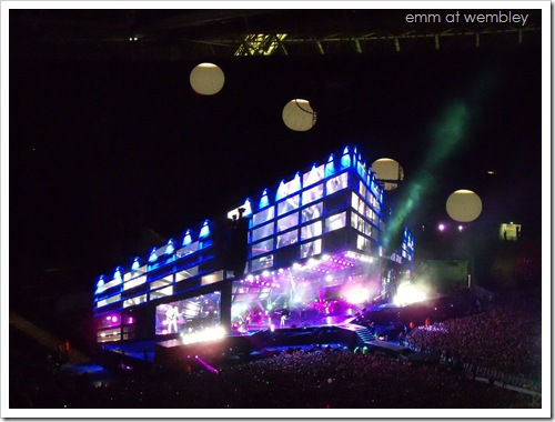 Muse at Wembley (September 11 2010) 02