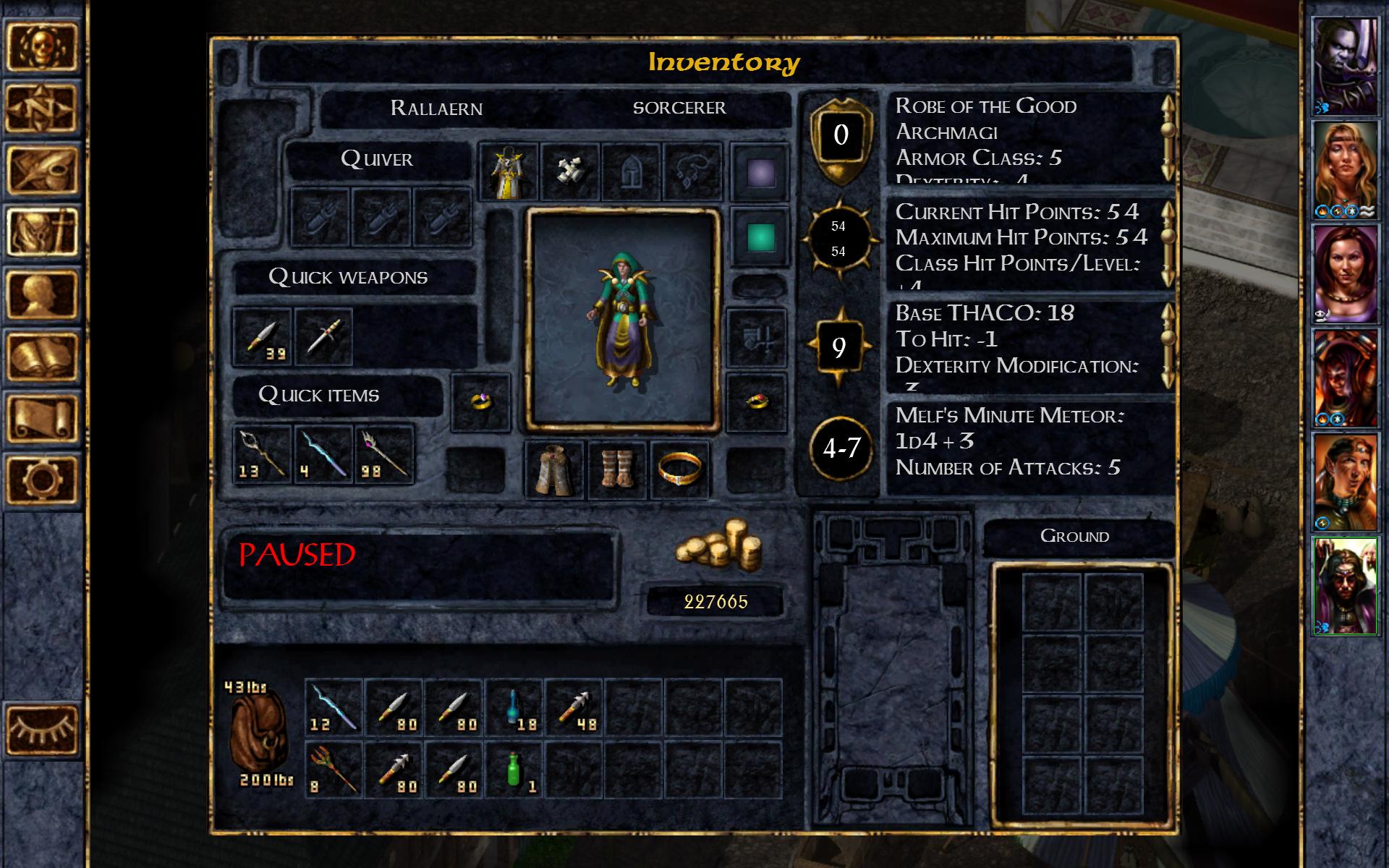 Baldur's Gate Enhanced Edition screenshot #22