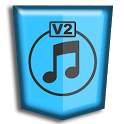Free music MP3 download V2 icon