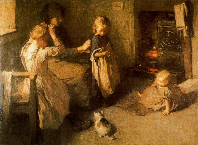 Laura Knight Dressing the Children.jpg
