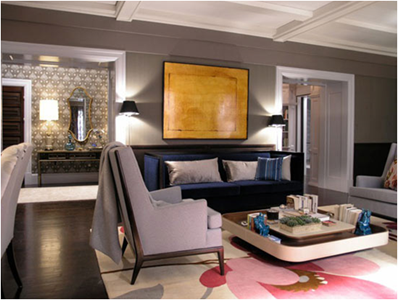 The world according to jessica claire get the look carrie - Carrie bradshaw apartment layout ...