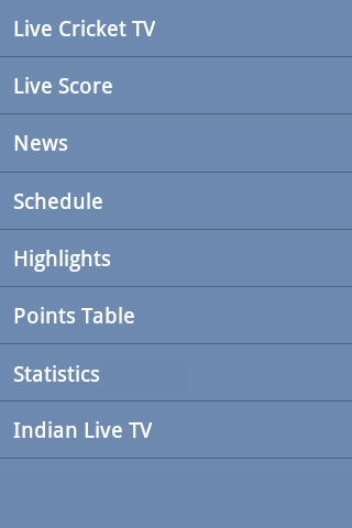 Cricket Live TV -Sports TV T20 - screenshot