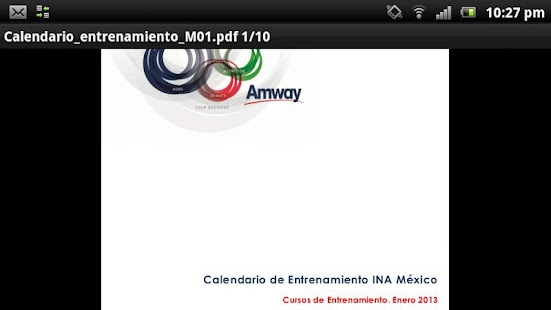 Instituto de Negocios Amway- screenshot thumbnail