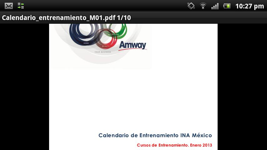 Instituto de Negocios Amway- screenshot