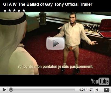 Gta 4 ballad of gay tony site de rencontre