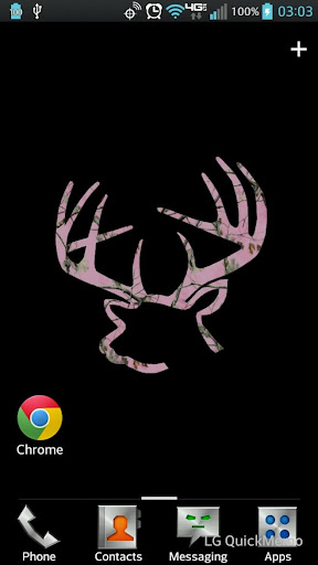Buck Rack Pink Live Wallpaper