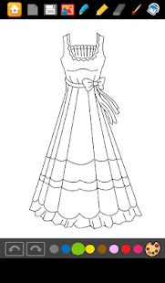 Dresses Princess Coloring- screenshot thumbnail
