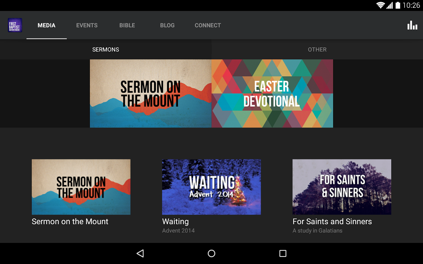 First Baptist Baton Rouge - screenshot