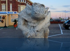 Gargoyle in Blackpool