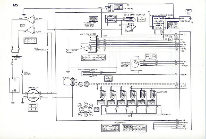 toyota 5mge wiring diagram  wiring diagram perform fear
