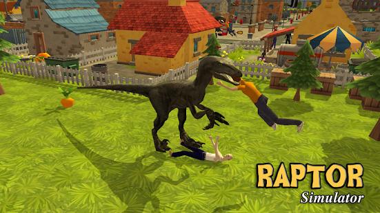 Raptor Dinosaur Simulator 3D