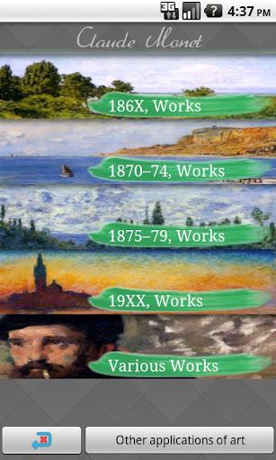 Claude Monet I Art Wallpaper