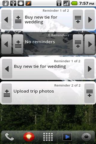 MyReminders - screenshot