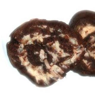 Chocolate-coconut Pinwheels