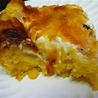 Cheese Corn Casserole.