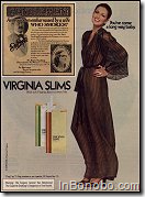 Virginia Slims robe